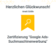 Google AdWords Zertifizierung